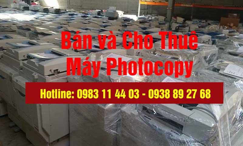 Dịch vụ bán máy Photocopy cũ tại TP Hồ Chí Minh