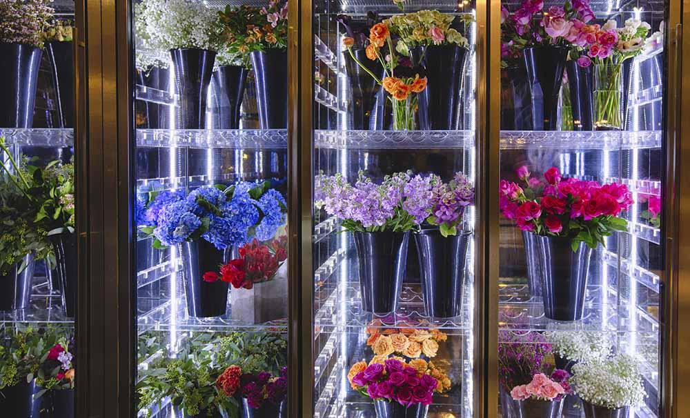 Hoa tươi được chăm sóc và bảo quản ở nhiệt độ thích hợp