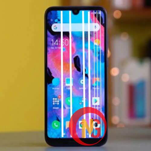 Màn hình Xiaomi Redmi 7 bị sọc