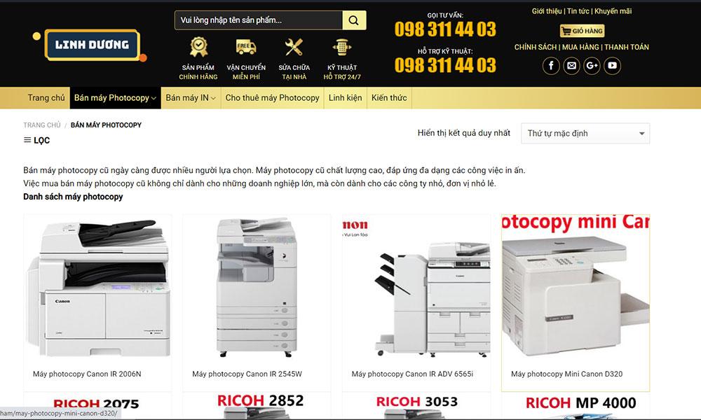 Lý do nên mua máy photocopy Ricoh cũ tại Linh Dương