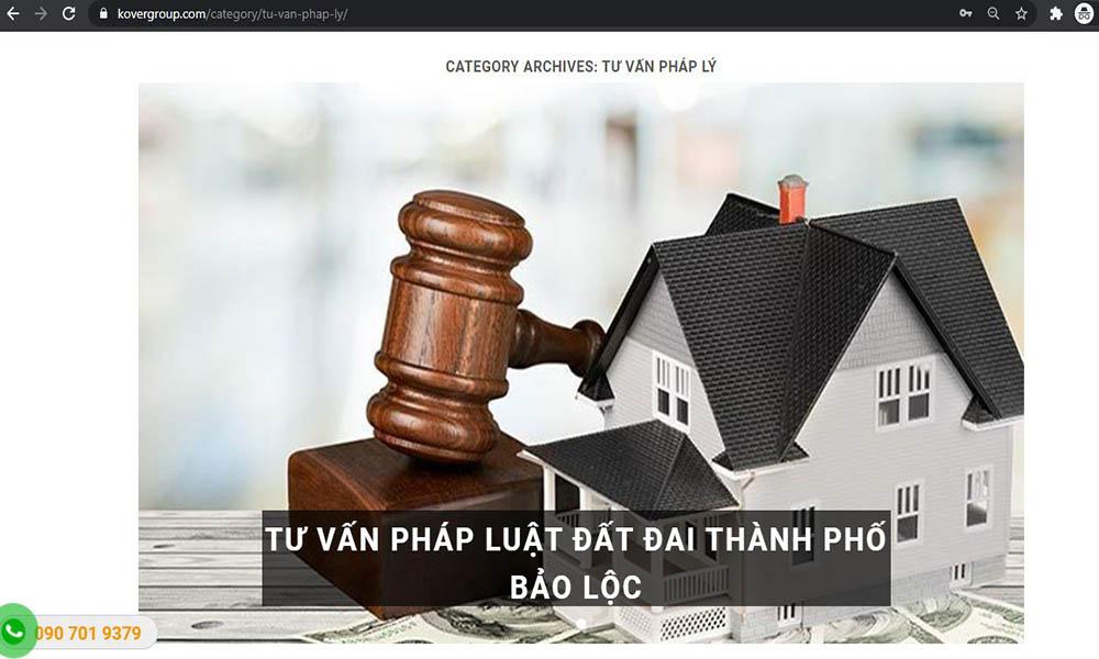 Blog tư vấn pháp luật đất đai nhanh chóng, chính xác