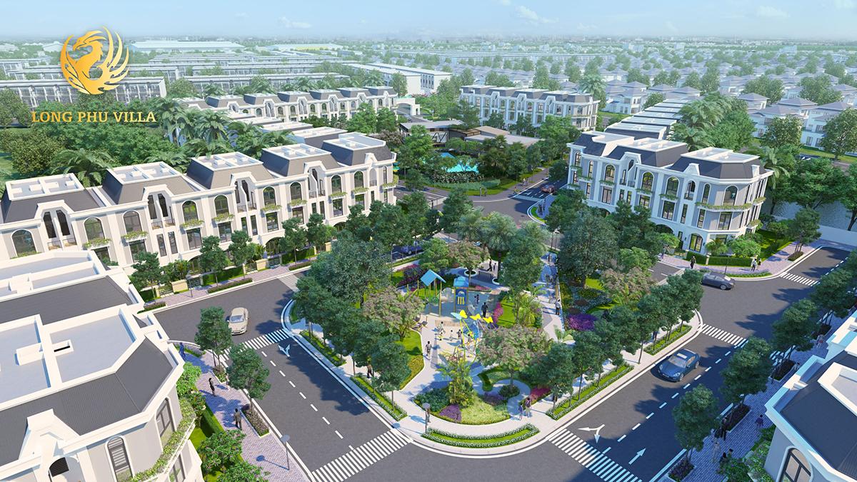 Dự án Long Phú Villa Long An