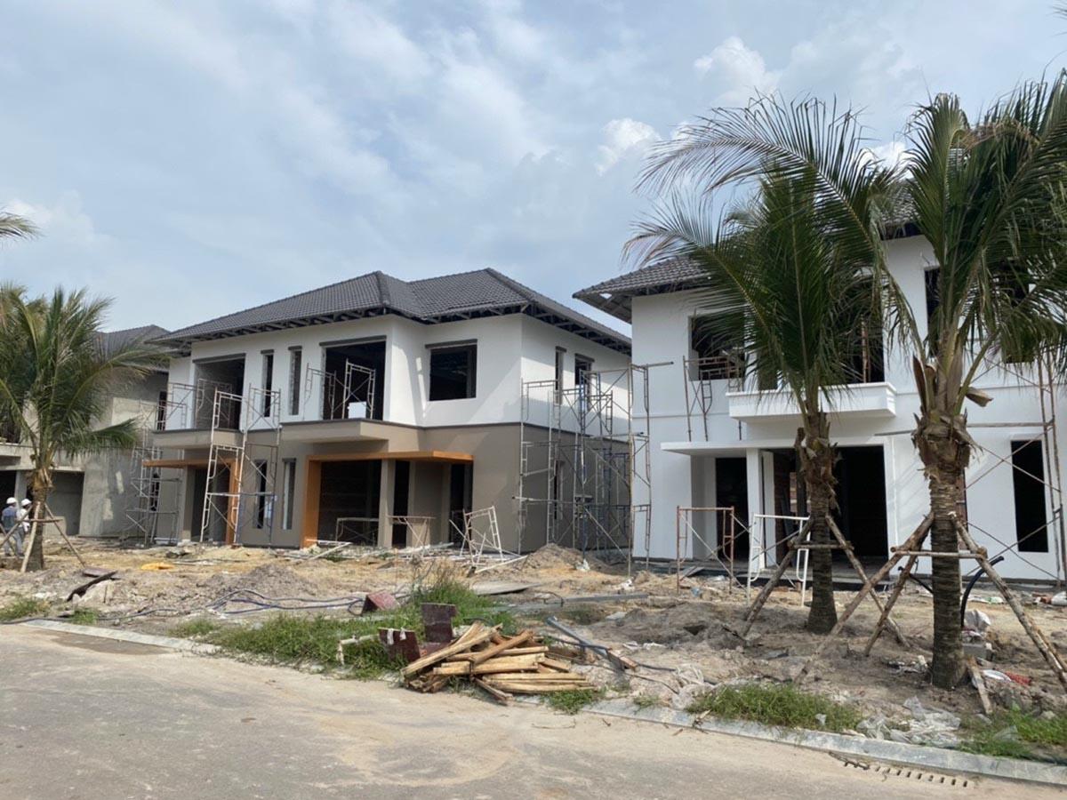 Xây dựng nhà vườn dự án