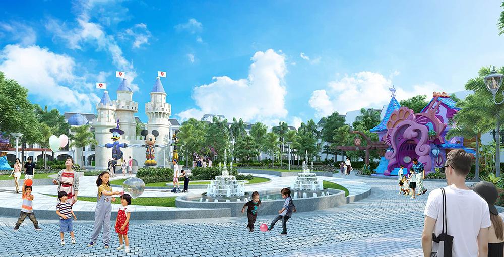 Công viên Disney dành cho trẻ em